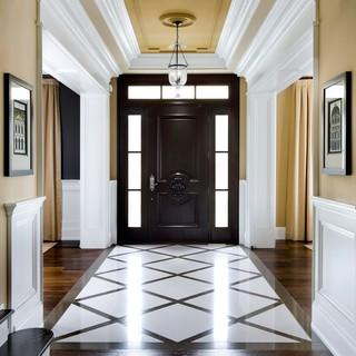 现代简约风格2013别墅客厅过道效果图