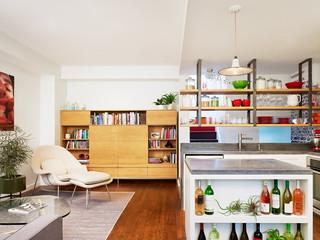 混搭风格客厅复式公寓简单实用2013客厅吊顶效果图