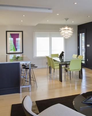 现代简约风格厨房200平米别墅简洁2014客厅窗帘装修图片