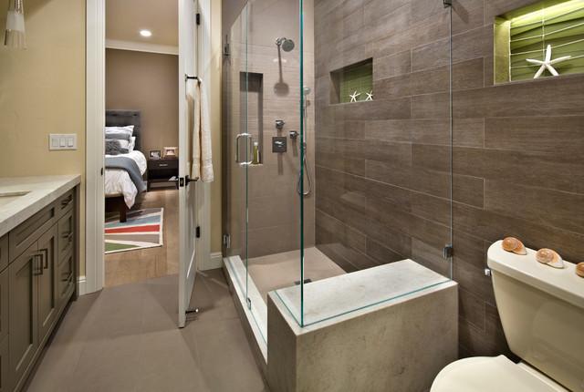 现代简约风格厨房三层别墅客厅简洁3m卫生间装潢