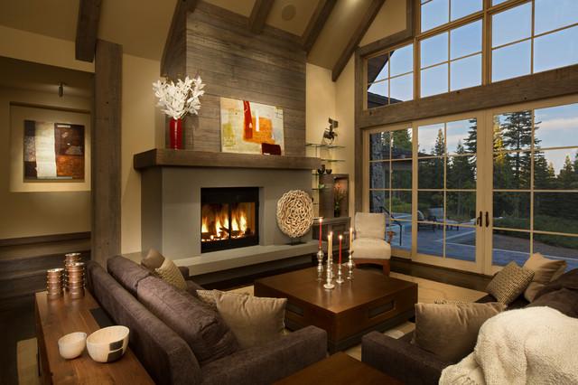 欧式风格卧室三层连体别墅大方简洁客厅2014客厅窗帘装修