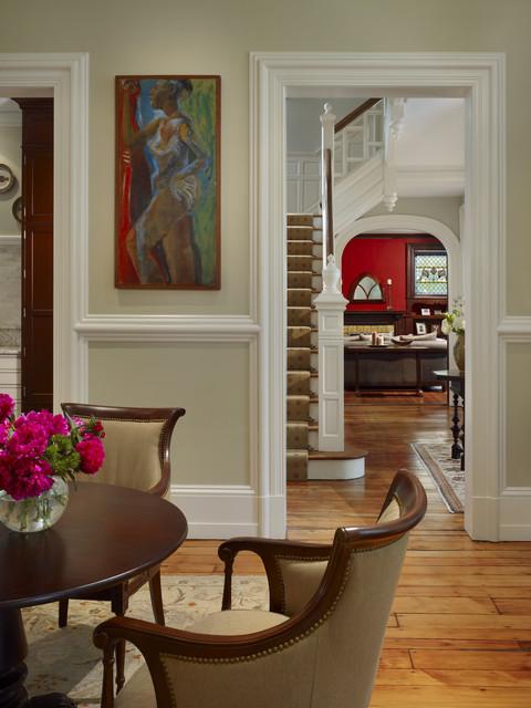 现代简约风格卫生间2014年别墅时尚实木圆餐桌效果图