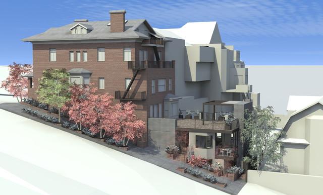 现代欧式风格2013别墅平面图