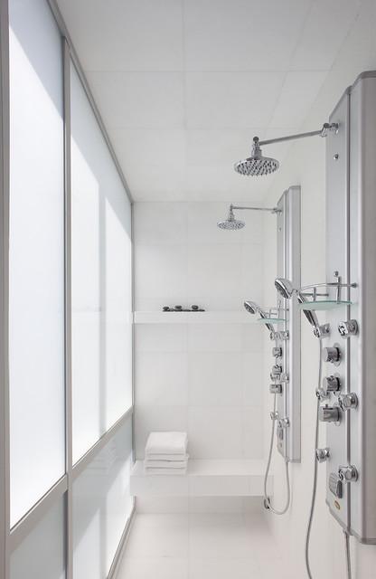 现代简约风格餐厅2层别墅简洁4个平米的小卫生间设计图