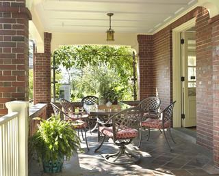欧式风格客厅3层别墅舒适阳台花园装修效果图