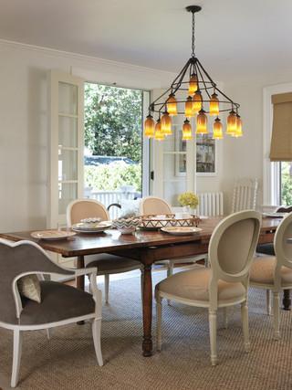房间欧式风格一层半别墅大气厨房餐厅隔断设计图纸