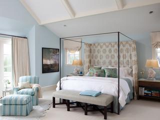 现代简约风格厨房三层双拼别墅时尚衣柜10平米卧室效果图