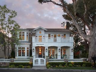 地中海风格客厅三层半别墅欧式豪华私家庭院效果图