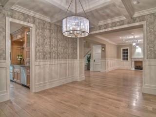 地中海风格家具200平米别墅豪华房子客厅过道设计