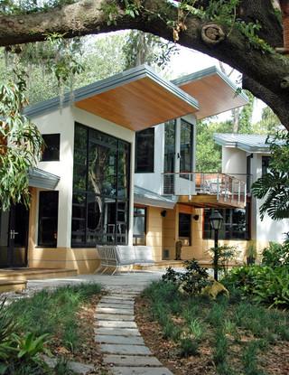 美式乡村风格客厅三层别墅温馨装饰室内入户花园设计