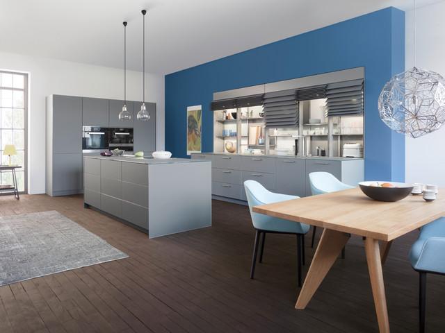 现代简约风格客厅三层连体别墅大气厨房与餐厅隔断设计