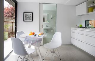现代简约风格餐厅一层别墅时尚卧室效果图