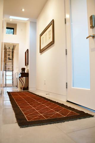 美式风格客厅2014年别墅时尚家装过道设计图纸