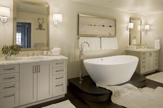 现代简约风格餐厅三层双拼别墅时尚卧室装饰4m卫生间设计