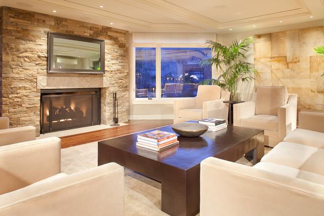 北欧风格复式公寓大气暖色调效果图