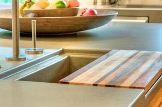 美式乡村风格卧室2层别墅唯美大理石餐桌图片