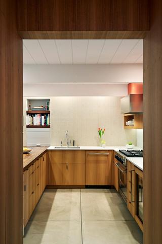 宜家风格客厅三层连体别墅大气 6平方厨房效果图