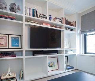 宜家风格酒店公寓小清新电视柜装饰图片
