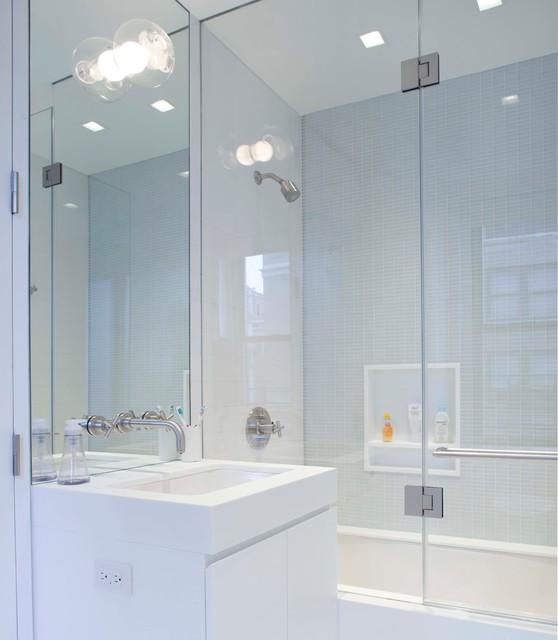 宜家风格单身公寓设计图小清新淋浴房配件订做