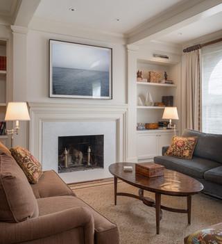 房间欧式风格2013别墅及客厅简洁影音室装修效果图