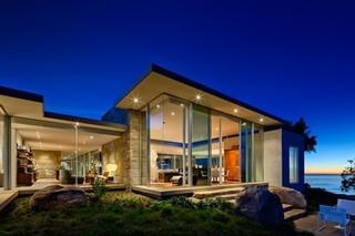 现代美式风格3层别墅豪华室内门厅装饰装修图片