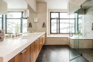 美式风格卧室2013别墅卧室温馨4平方卫生间装潢