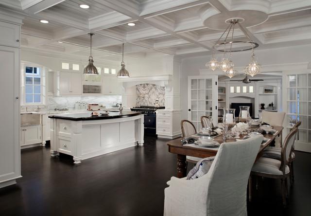 美式风格客厅三层别墅大气套房餐厅装修图片