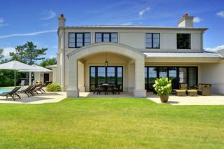 地中海风格2013别墅浪漫卧室家庭庭院装修效果图