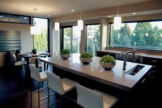 新古典风格卧室三层独栋别墅唯美中式餐厅改造
