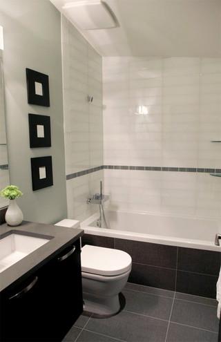新古典风格一层别墅唯美品牌整体淋浴房安装图