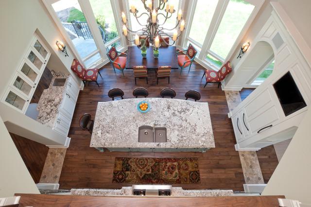 地中海风格卧室三层半别墅奢华家具2013整体厨房装潢