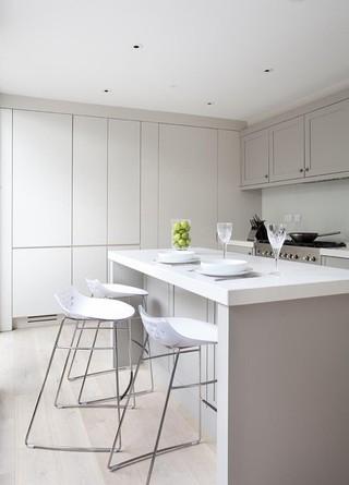现代欧式风格三层连体别墅大方简洁客厅宜家椅子图片
