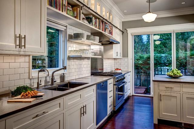 宜家风格2013年别墅可爱小户型开放式厨房效果图