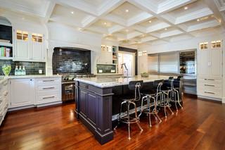 欧式风格卧室三层连体别墅别墅豪华 6平方厨房设计图