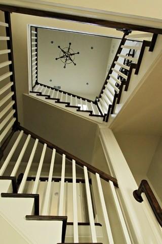 大气黑白色古典新气象 巴克海特区私人别墅翻新改造