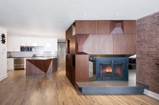 现代简约风格2013别墅时尚简约客厅欧式过道效果图