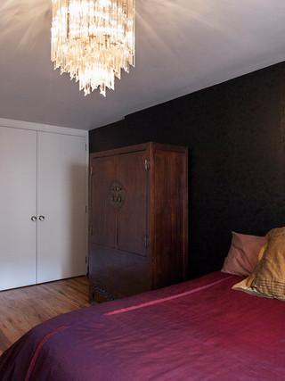 现代简约风格卫生间三层双拼别墅时尚简约10平米卧室装修效果图