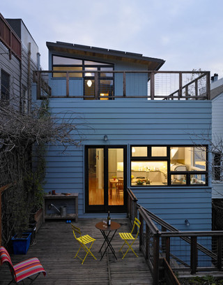 宜家风格三层别墅舒适屋顶花园装潢