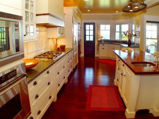 东南亚风格家具一层别墅浪漫婚房布置整体厨房设计