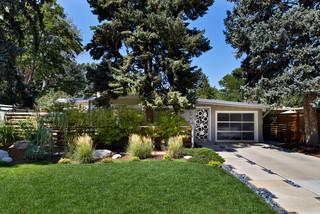 美式风格200平米别墅艺术家具庭院围墙装潢