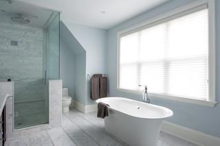 房间欧式风格2层别墅浪漫卧室冷色调装修效果图