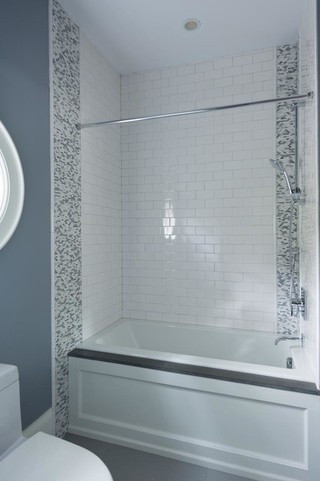 现代简约风格厨房一层别墅及大气灰色窗帘效果图