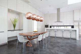 现代简约风格卧室三层独栋别墅现代简洁客厅与餐厅隔断设计图纸