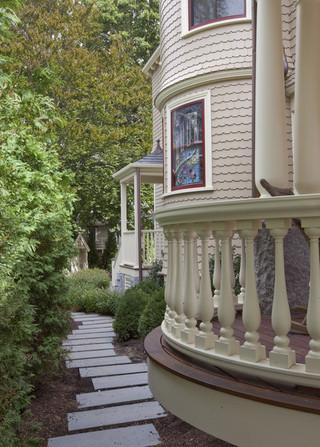 新古典风格客厅一层半别墅欧式豪华家装楼梯设计图纸