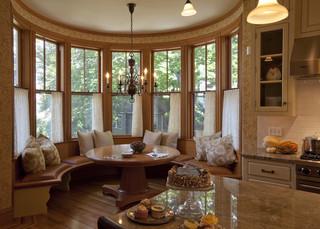 新古典风格卧室一层别墅及豪华房子简约客厅窗帘设计图