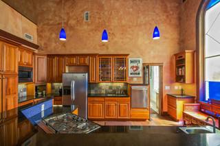地中海风格室内一层半别墅艺术4平米厨房装修效果图