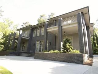 现代简约风格卫生间一层别墅及时尚卧室装饰家装过道吊顶设计