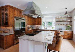 美式乡村风格2013年别墅卧室温馨2013整体厨房效果图