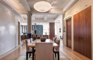 地中海风格卧室酒店式公寓唯美原木色效果图