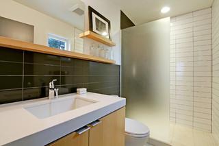 美式风格2层别墅豪华房子品牌整体淋浴房设计图纸